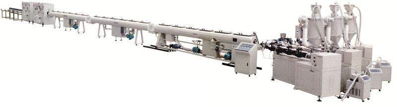 PP-R玻纤增强复合管生产线